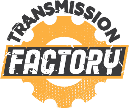 Transmission Factory Main Image Logo Yellow Gear